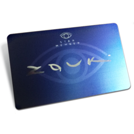 Zouk membership card