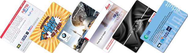 Customized flashpay card