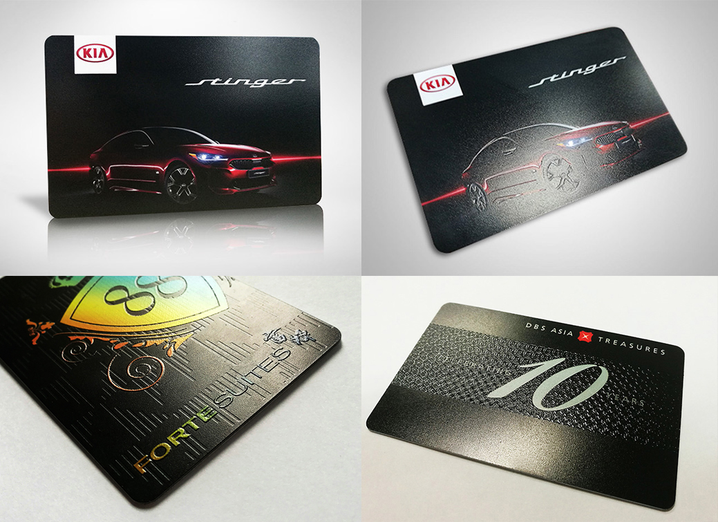 flashpay card etching effect