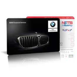 Customized Flashpay card_BMW