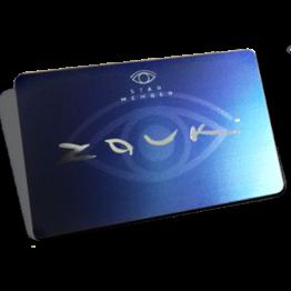 Zouk membership card