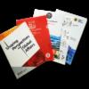 customized l shape folders