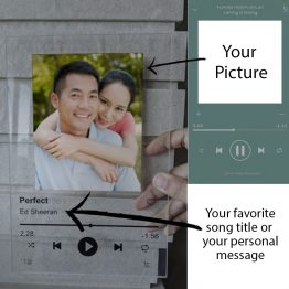 customising your spotify plaque