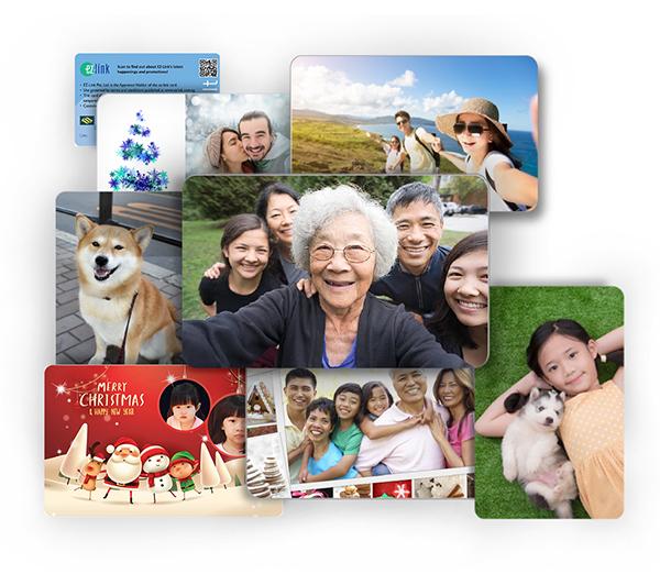 personalised ezlink cards